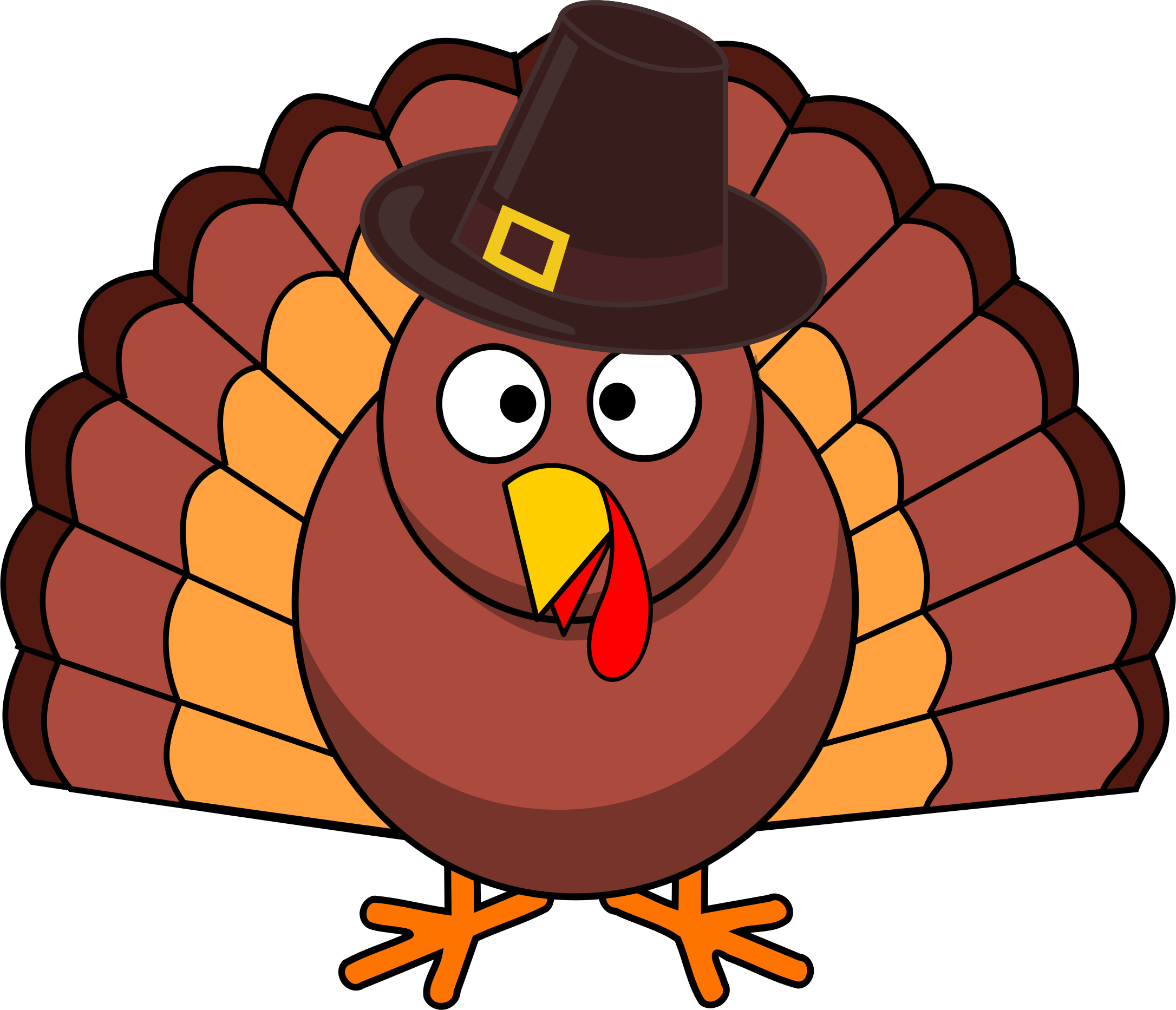 Clipart turkey shoe. Silhouette at getdrawings com