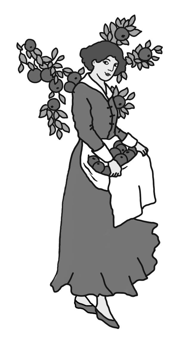 Happy thanksgiving drawing woman. Shy clipart black and white