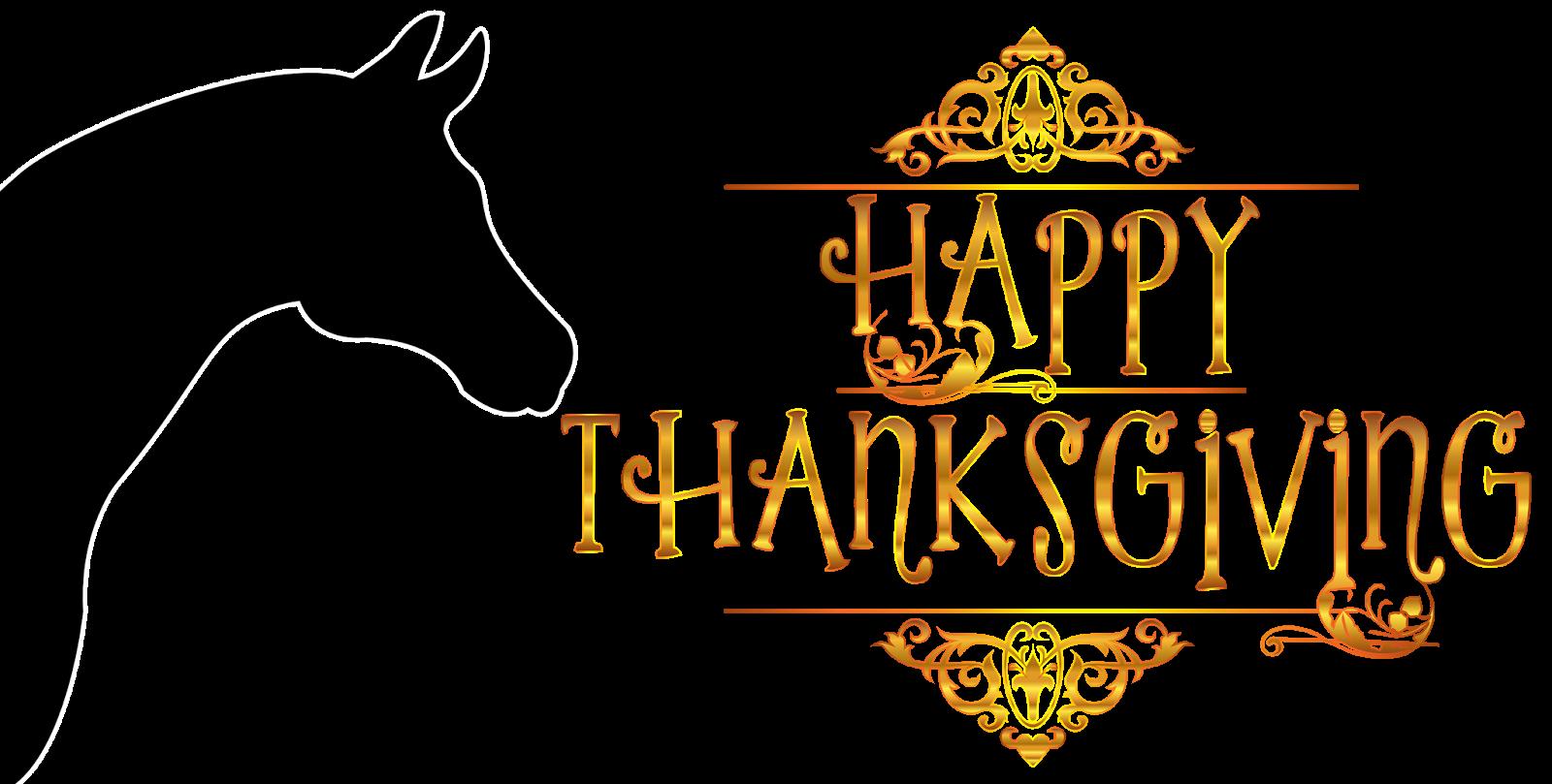horse clipart thanksgiving