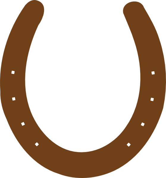 horseshoe clipart two