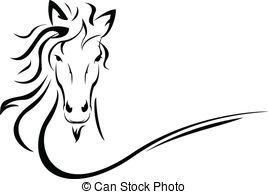 Clip art royalty free. Clipart horse vector