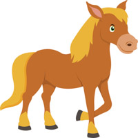 Horse clipart. Free clip art pictures