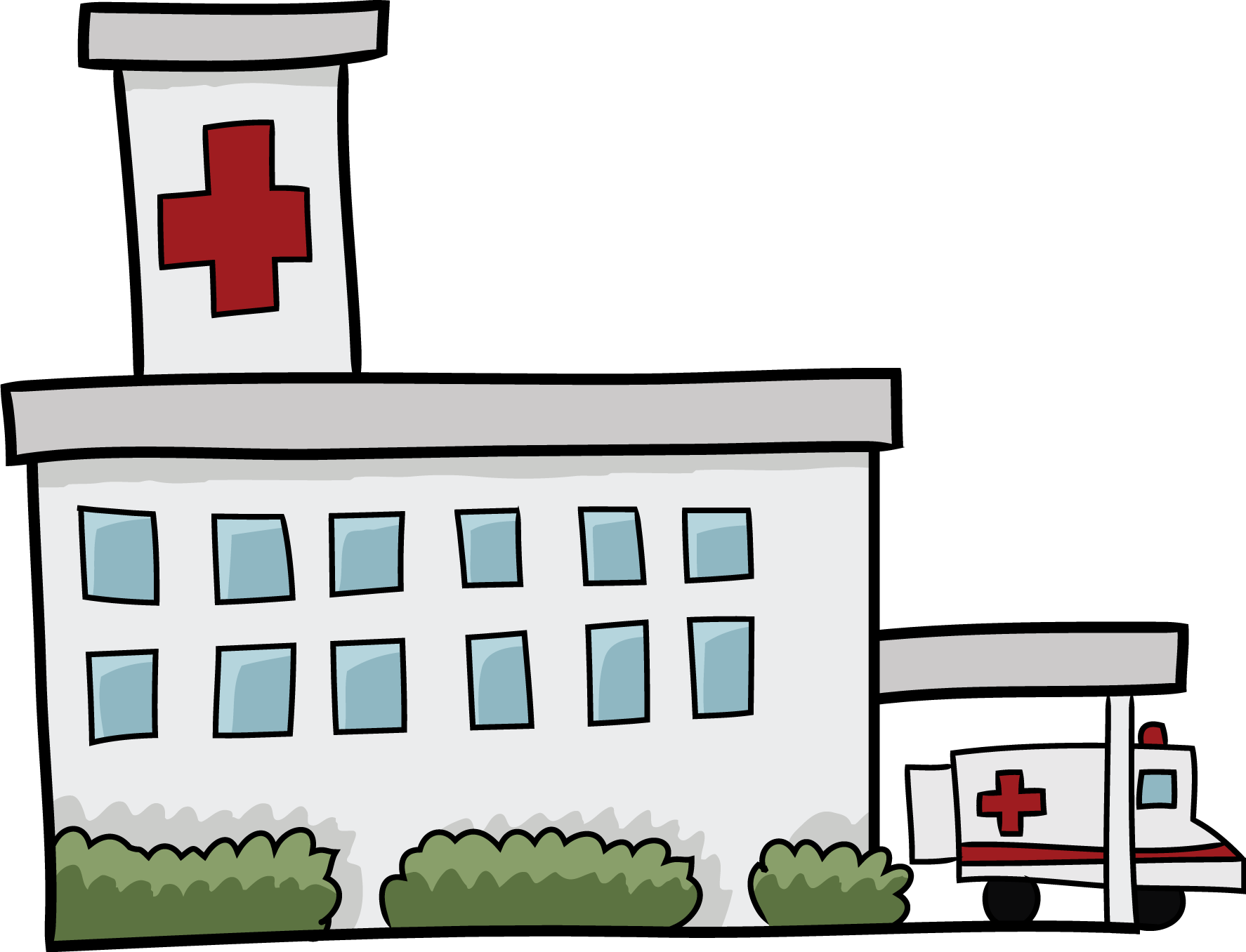 Community clipart cute. Hospital free