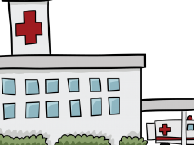 huge freebie download. Hospital clipart black and white
