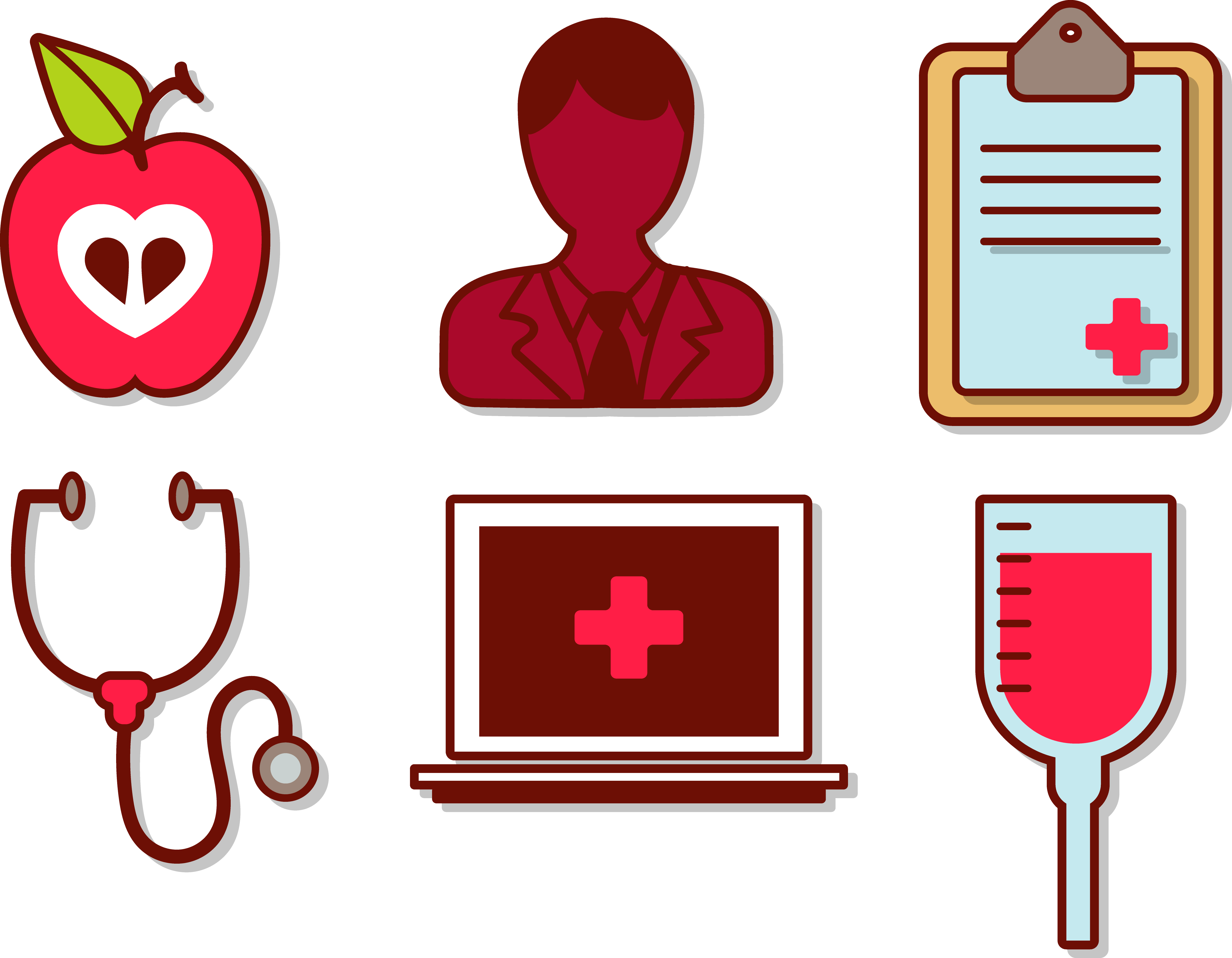 Physician care medicine hospital. Professional clipart health professional
