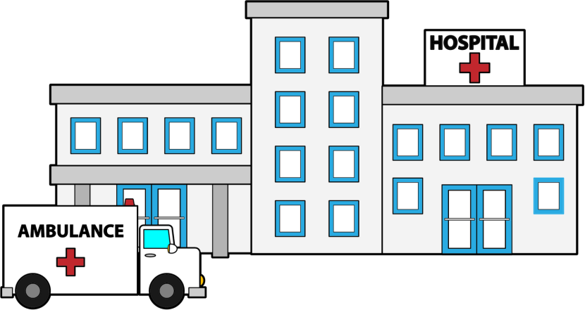 Clipart hospital drawing.  collection of in