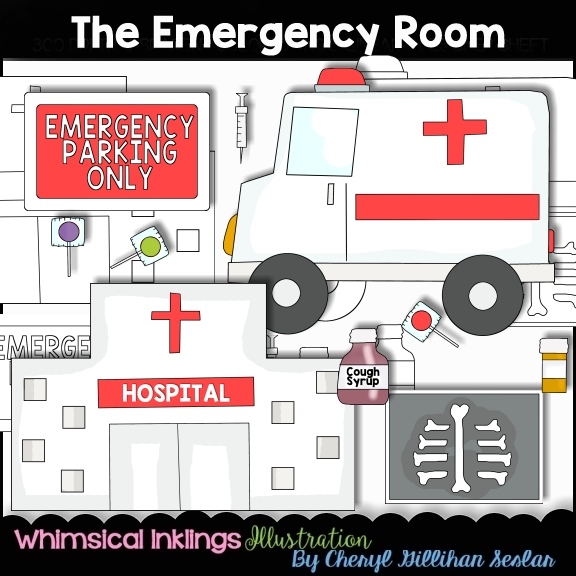 The collection . Hospital clipart emergency room