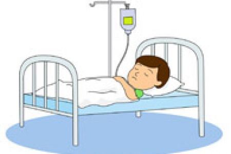 Person in clipartpost . Hospital clipart hospital bed