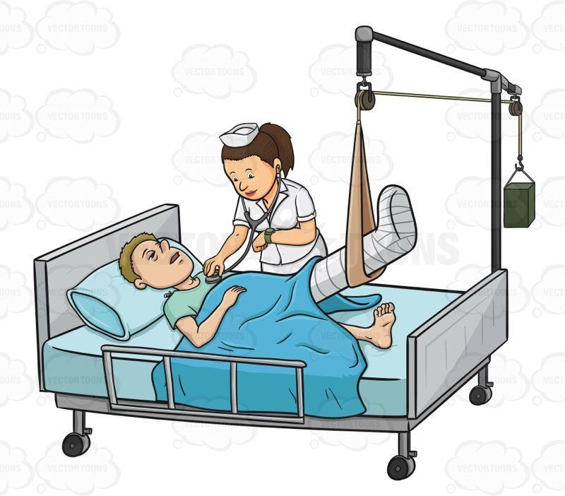 Hospital clipart female patient. Nursing management of patients