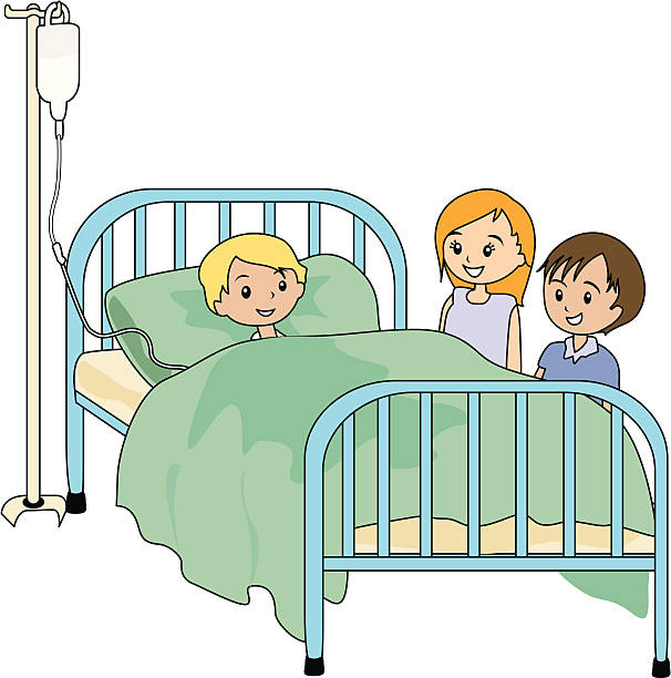 Pencil and in color. Hospital clipart hospital visit