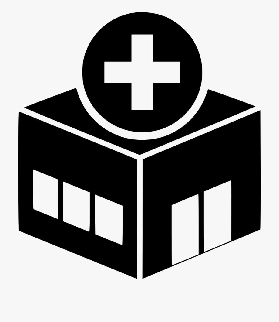 Hospital clipart vector. Healthcare library stock logo