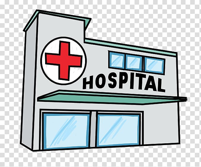 Gray free content patient. Hospital clipart illustration
