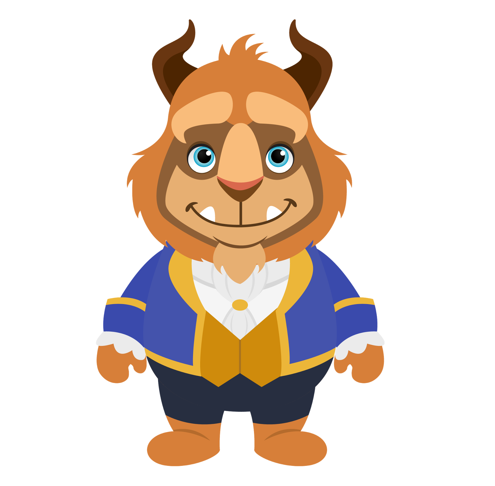 Kit de personalizados tema. Wolves clipart beauty and the beast