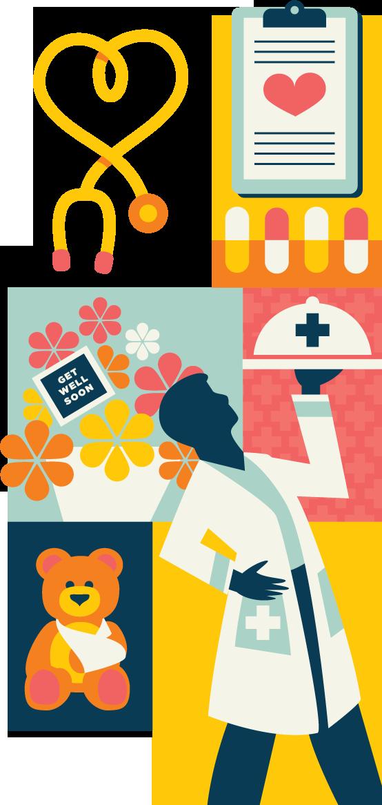 Hospitality pegasus magazine denver. Hospital clipart hospital visit