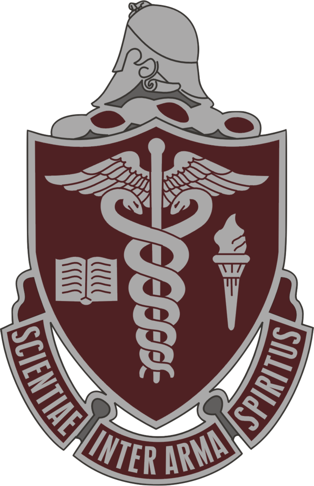 Walter reed army medical. Soldiers clipart badge