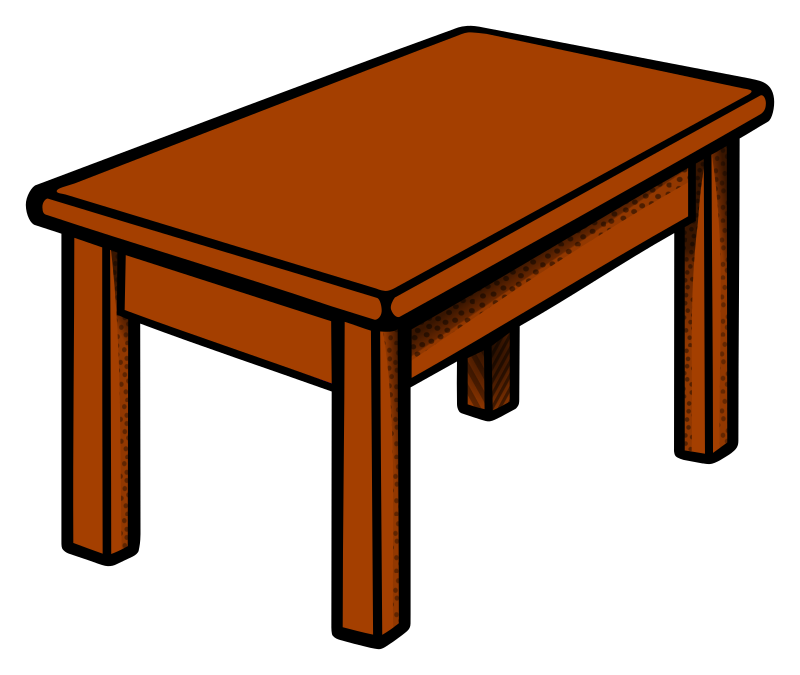 Furniture clipart dinning table. At getdrawings com free