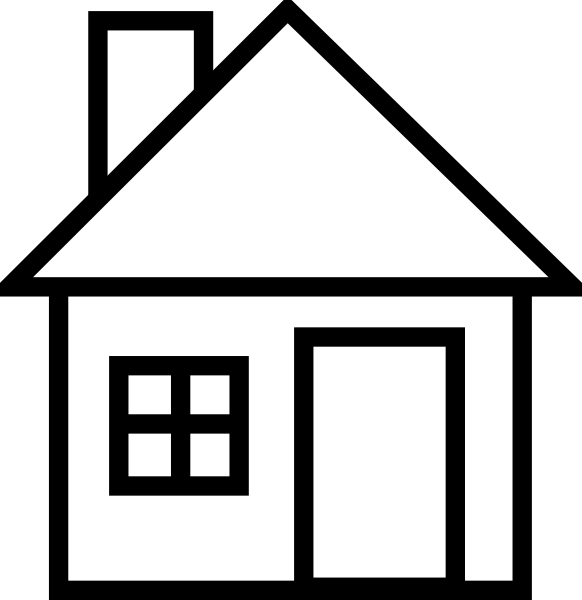 Windy clipart house. Clip art at clker