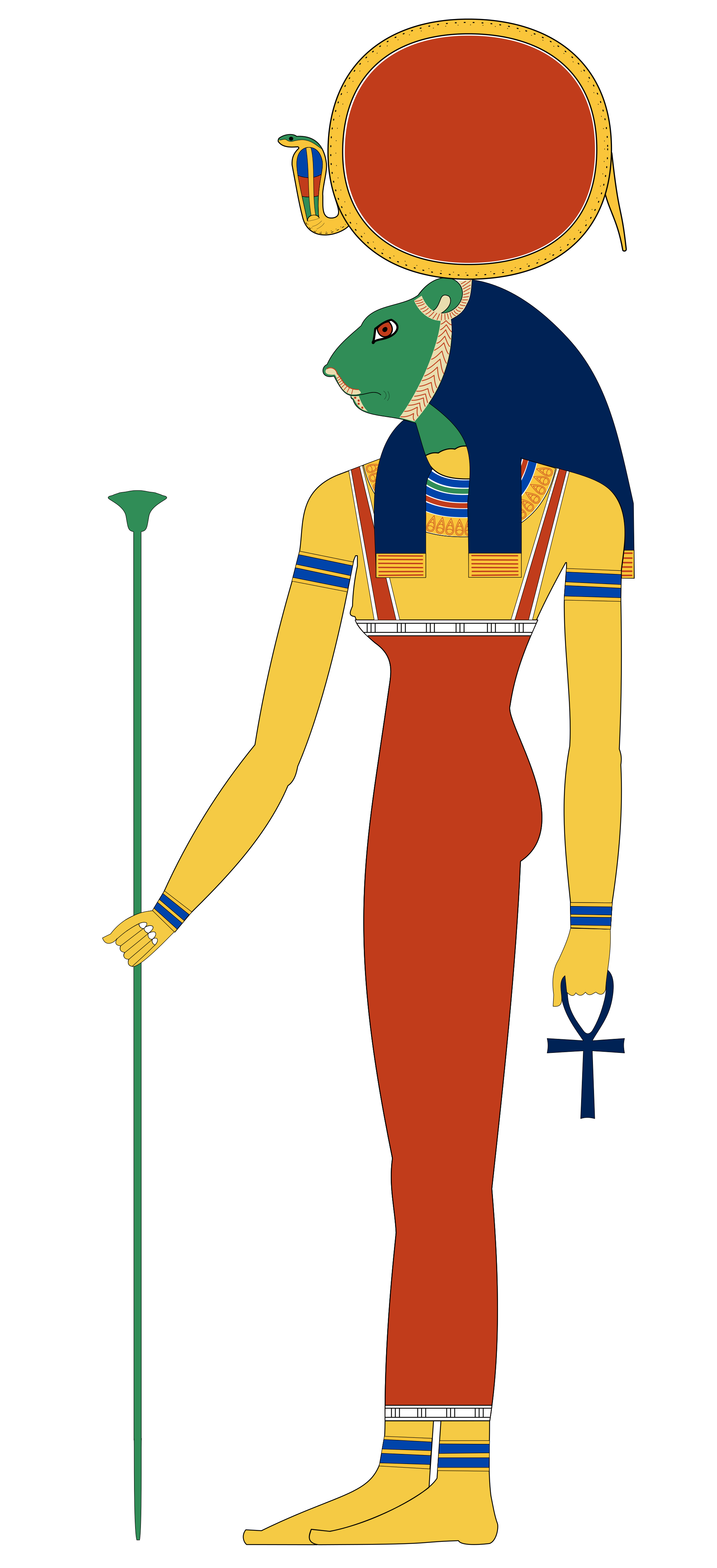 Cobra clipart ferocious. Egyptian gods sekhmet google