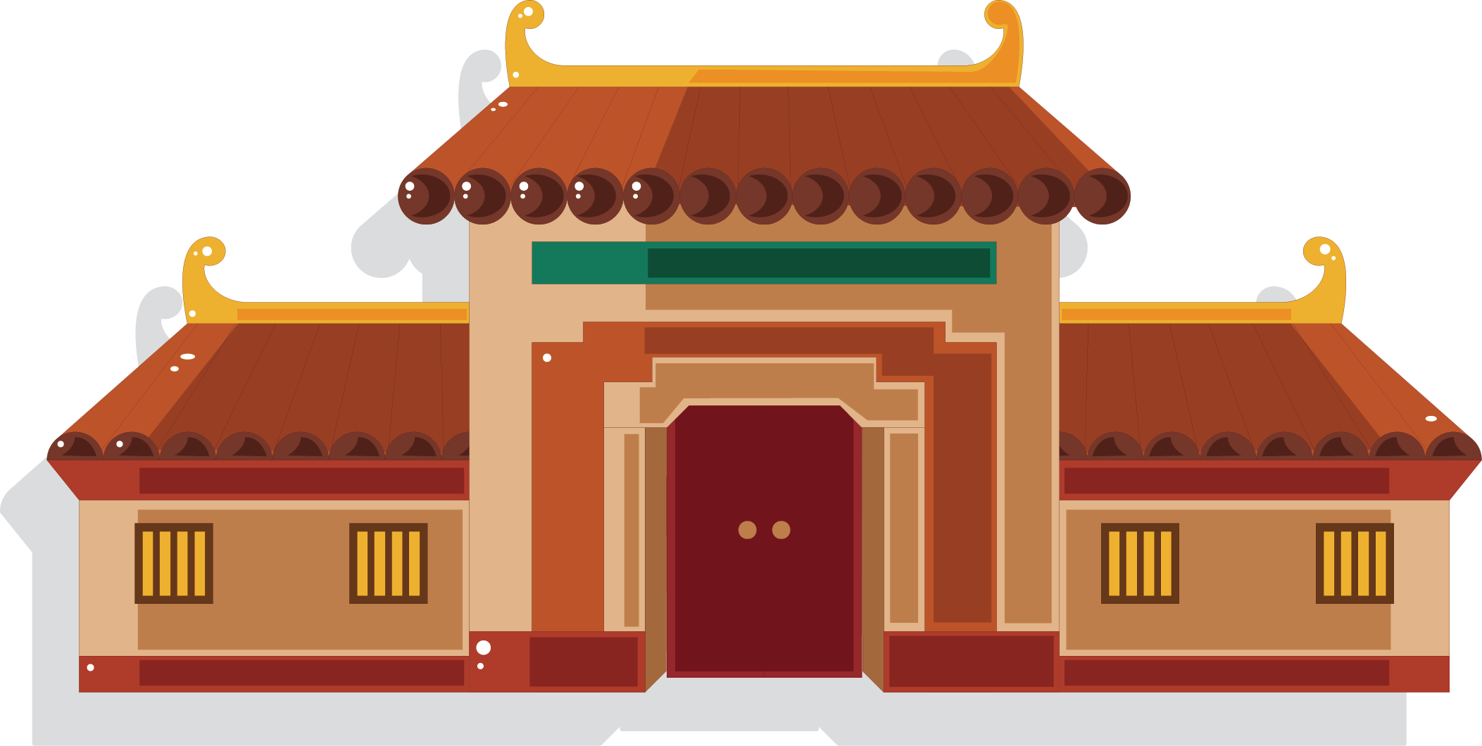 China architecture building house. Palace clipart palace egypt