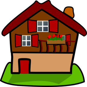 House clipart cartoon. Free animated cliparts download