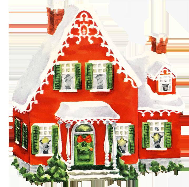 Home clipart christmas. Clip art vintage santa