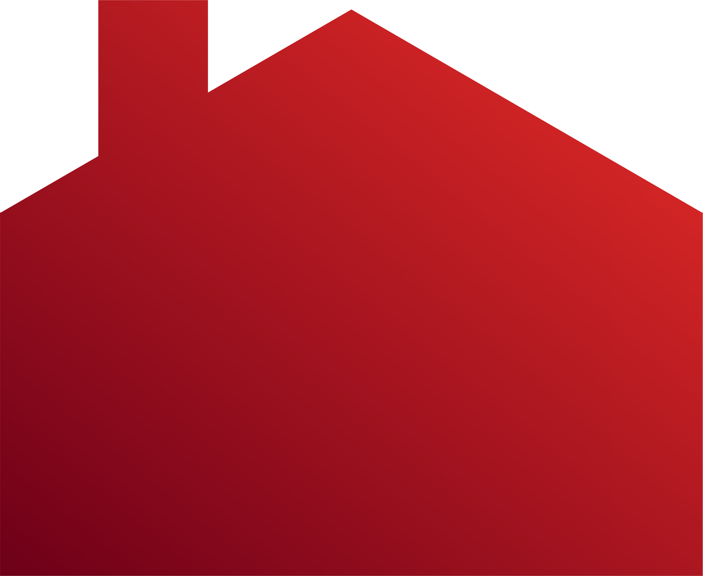 Color clipart maroon. Of a red house