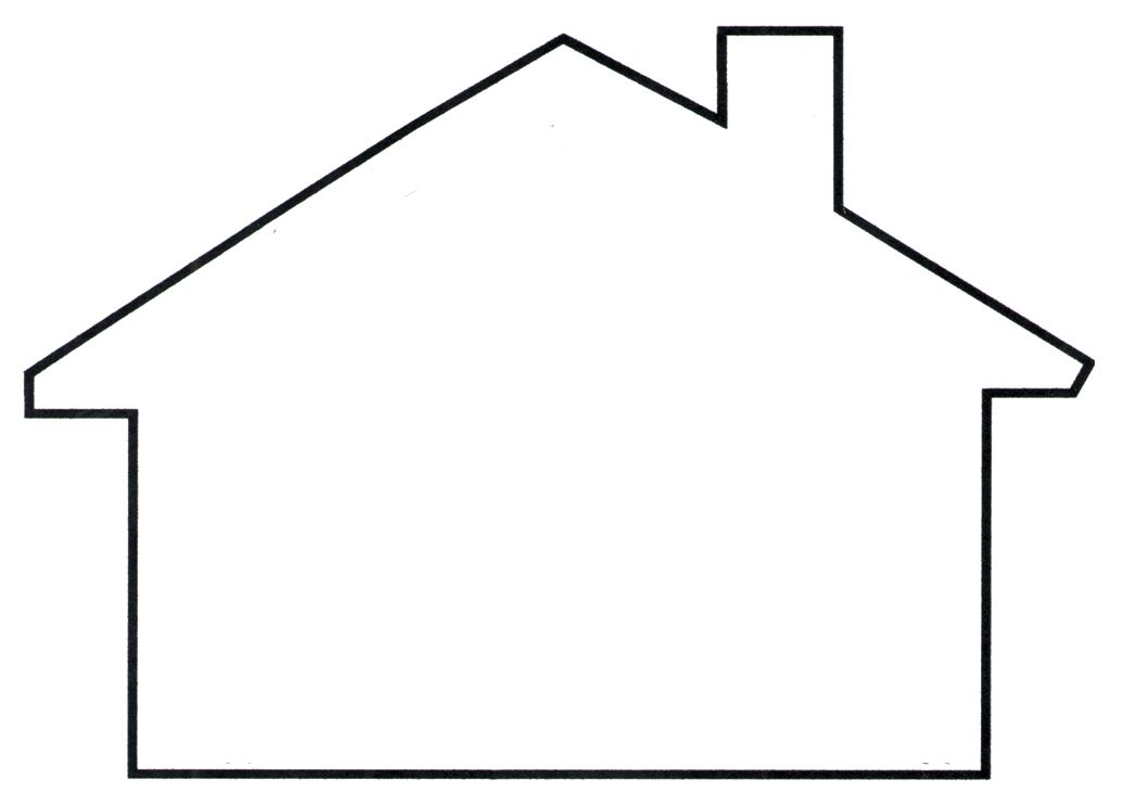 House clipart cut out. Template best templates