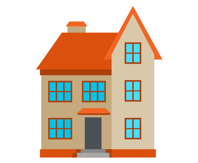 Clipart houses diagram. Free house cliparts download