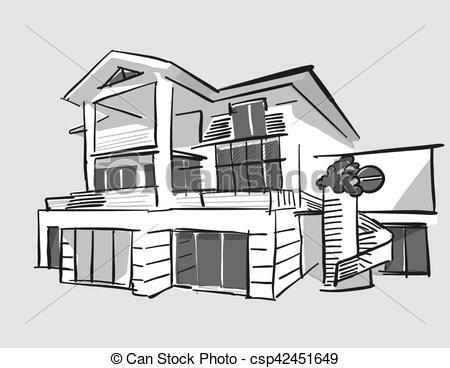 Station . House clipart dream house