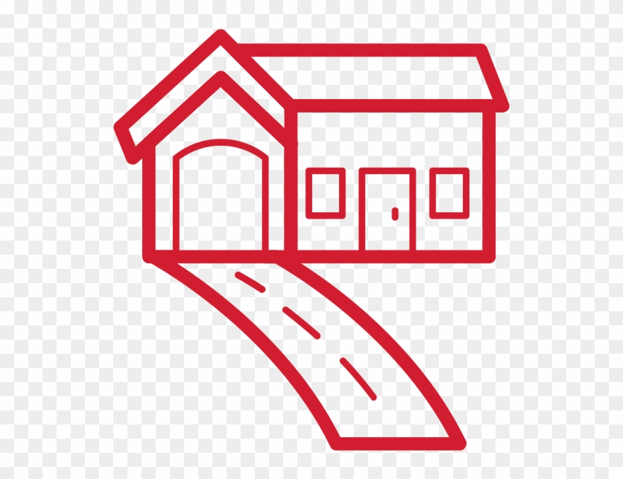 Houses clipart driveway. House pinclipart