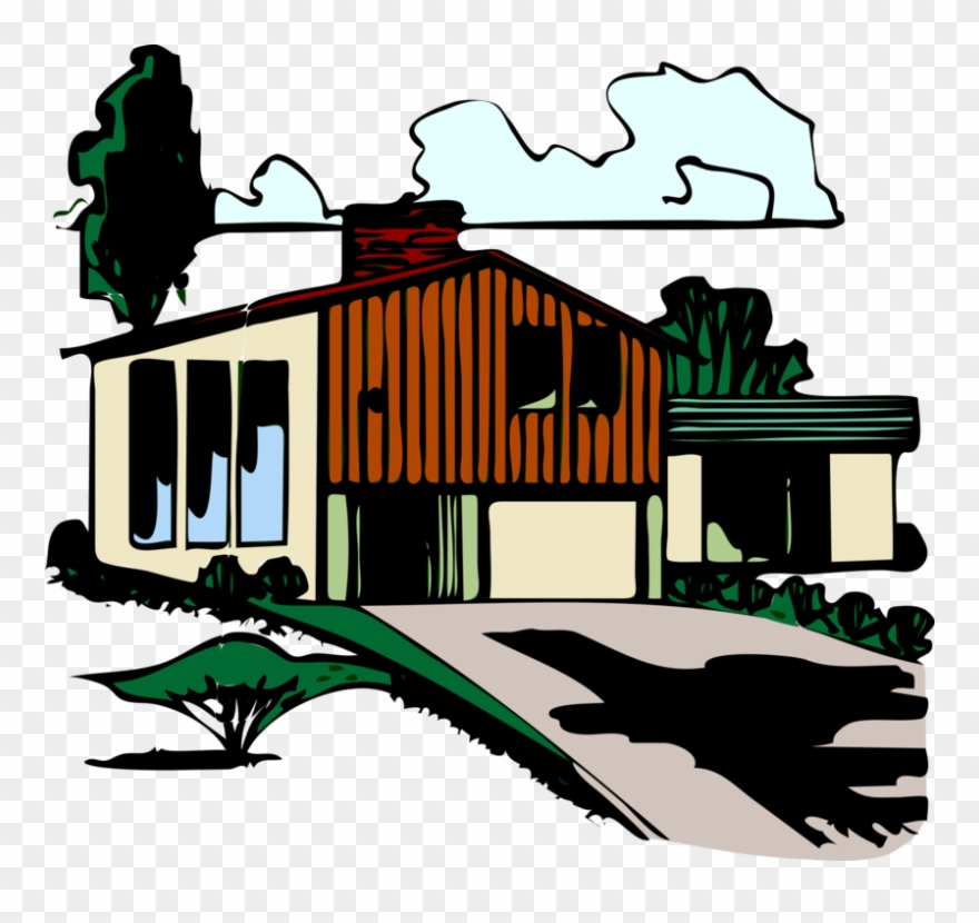 Download block paving house. Houses clipart driveway