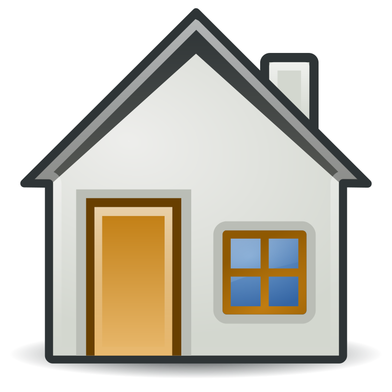 collection of simple. Up clipart house