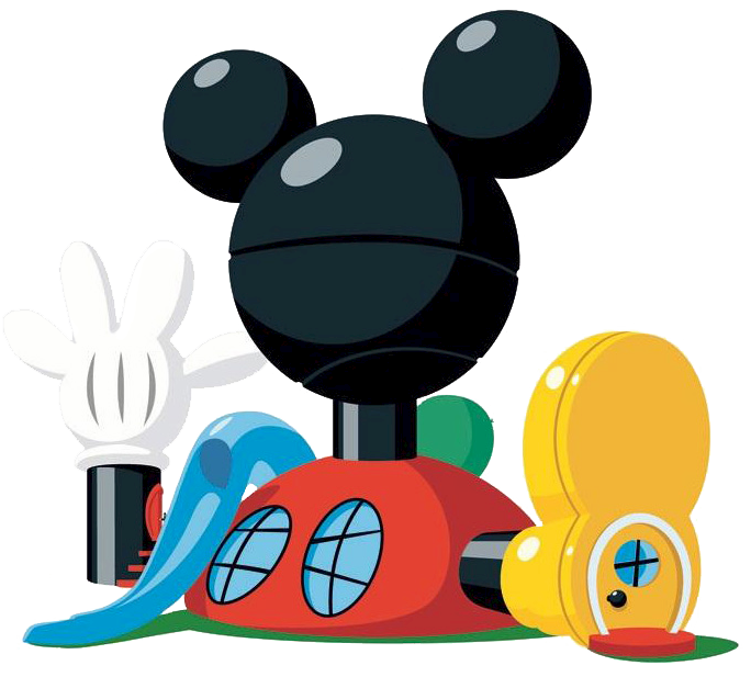 House clipart face. Mickey mouse clubhouse characters