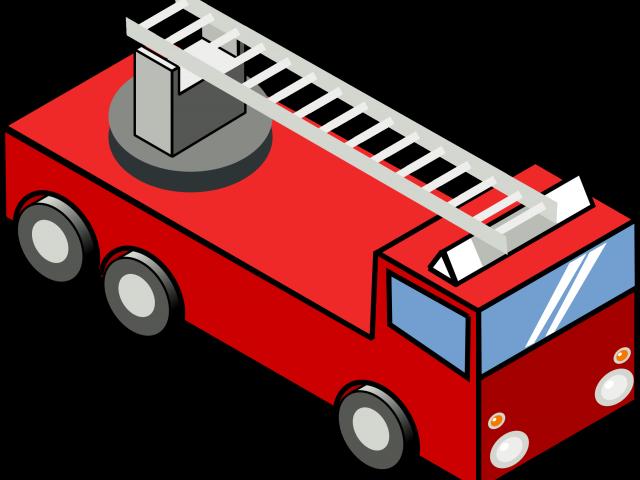 Clipart house fire. Truck cartoon free on
