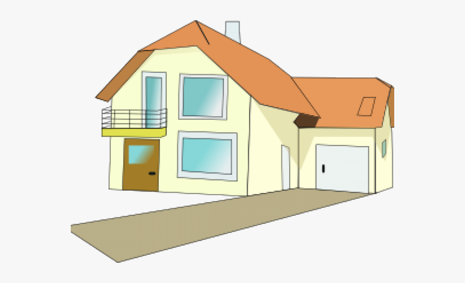 Villa animated gif png. Clipart house garage