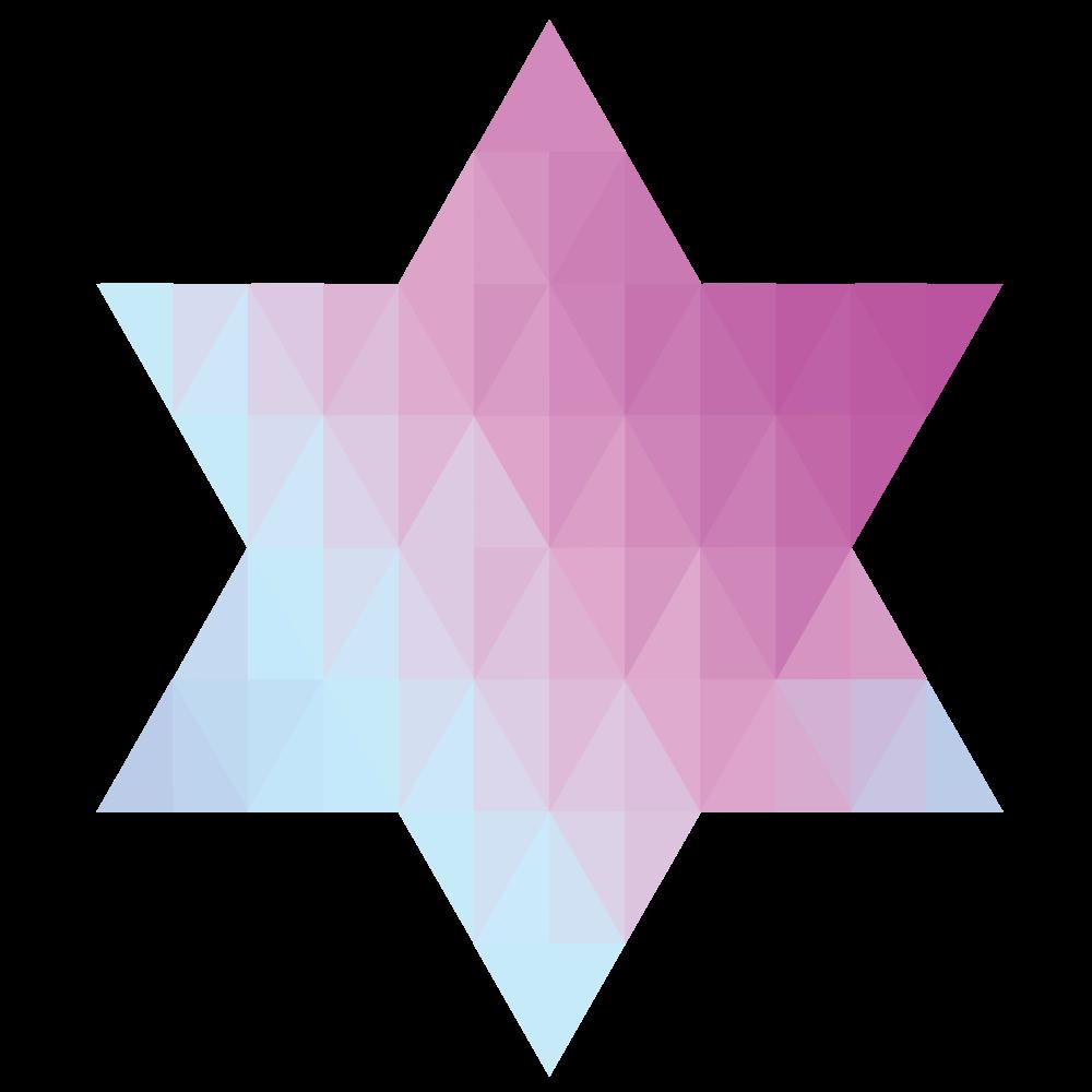 Corner clipart geometric. Onlinelabels clip art star