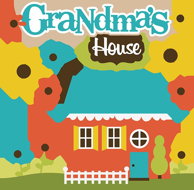 clipart house grandparents