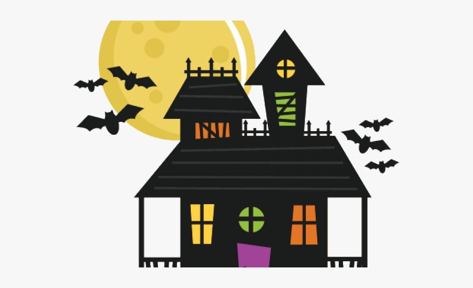 Houses clipart halloween. Haunted house halloweenhaunted
