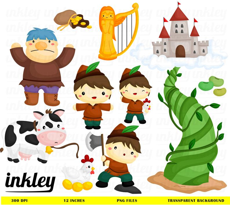 Houses clipart jack and the beanstalk. Clip art png story