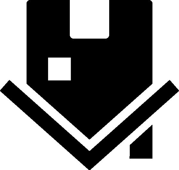Upside down house clip. Houses clipart logo