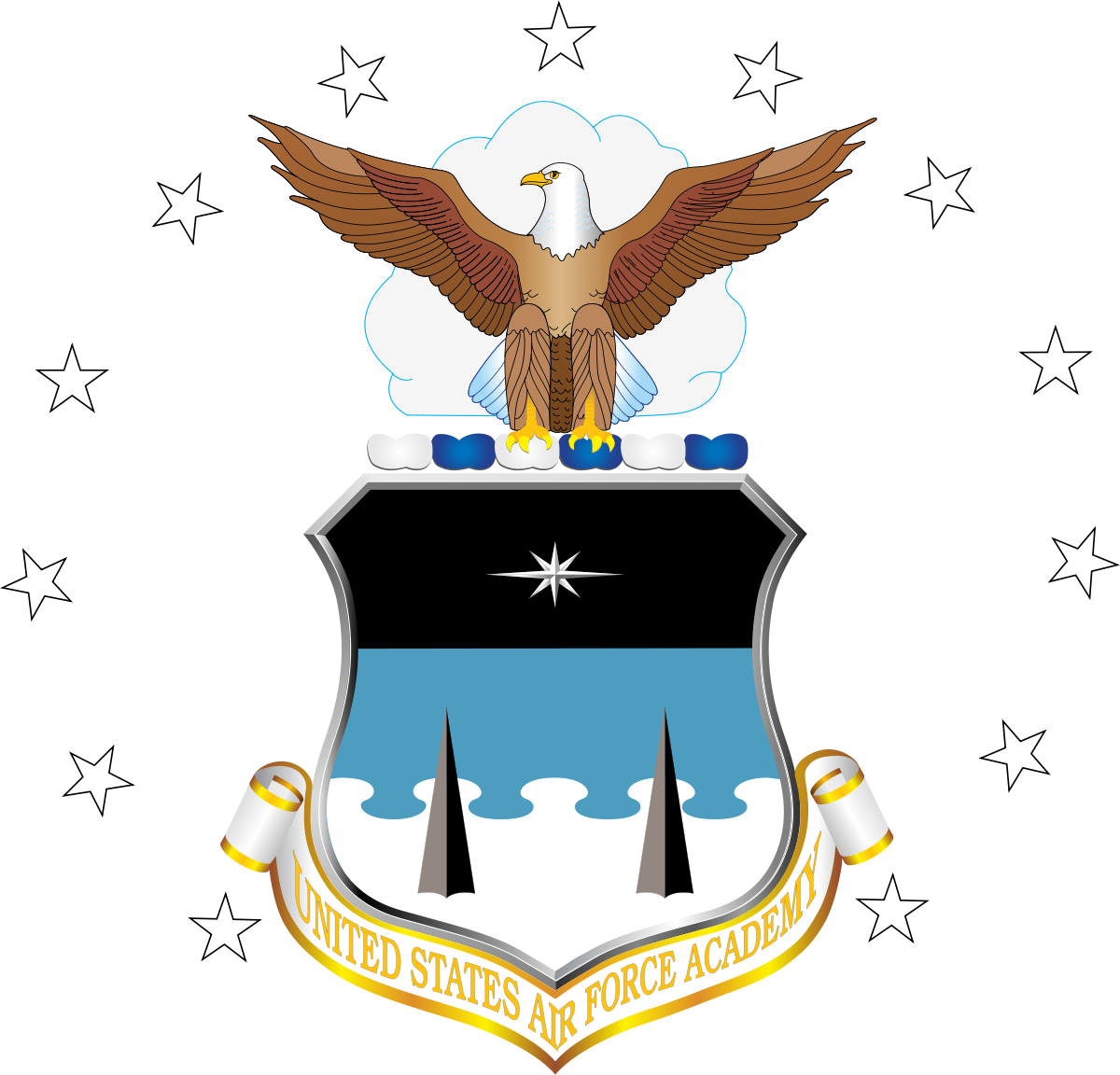 Pilot clipart security guard logo. United states air force