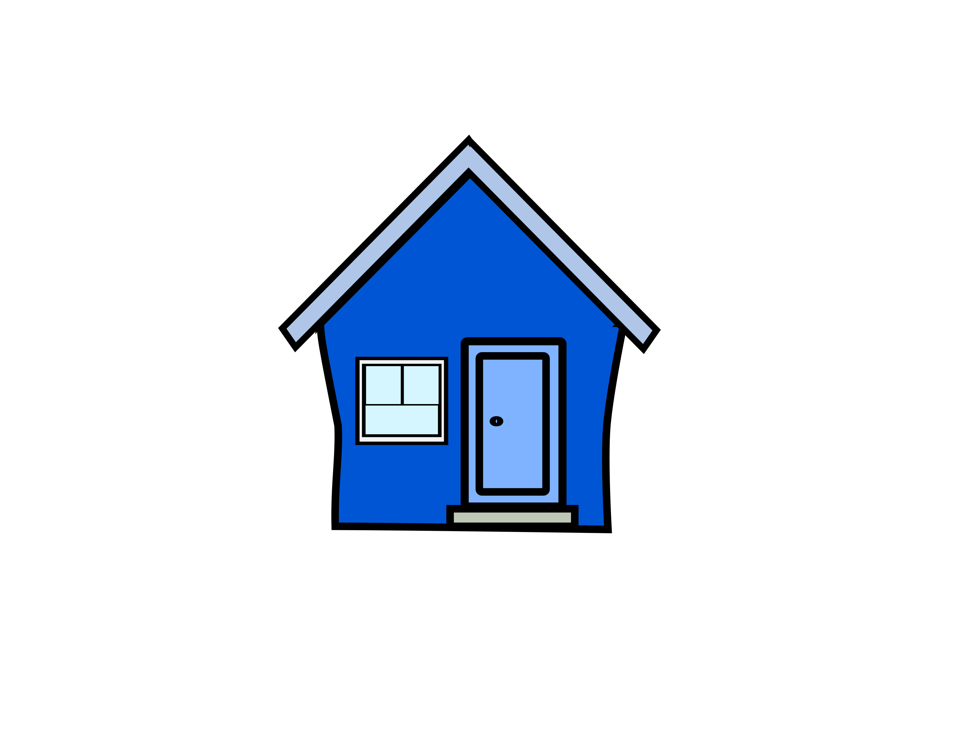 Neighbors clipart colored house. Interior at getdrawings com