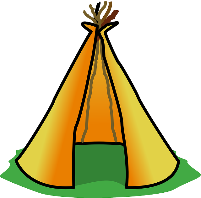 Tent free collection download. Clipart house orange