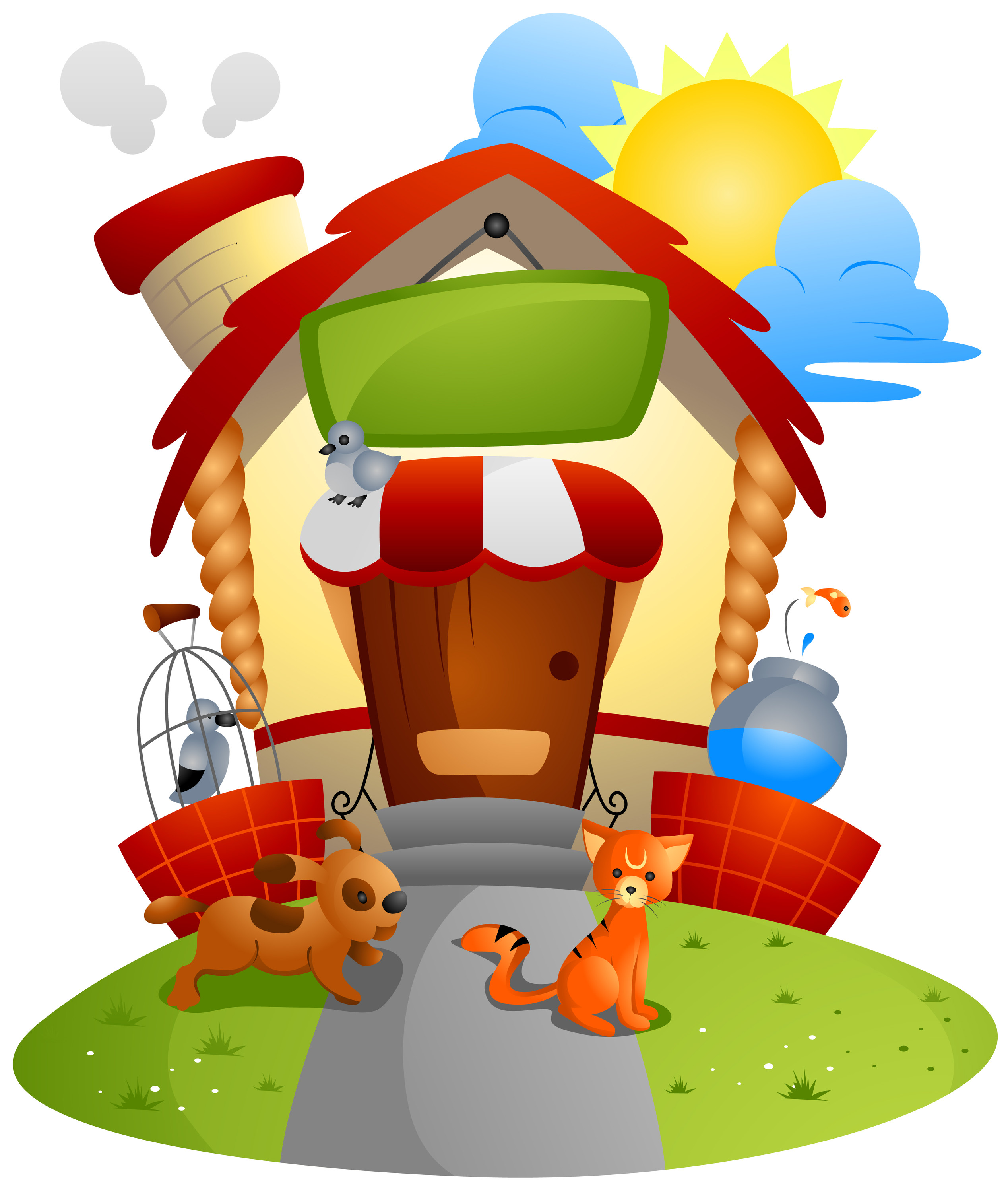 Free cliparts download clip. Pet clipart house