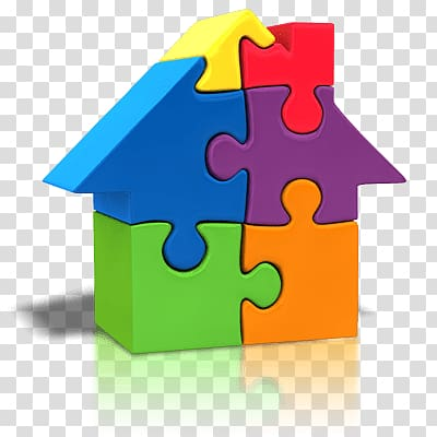 d made of. Puzzle clipart house
