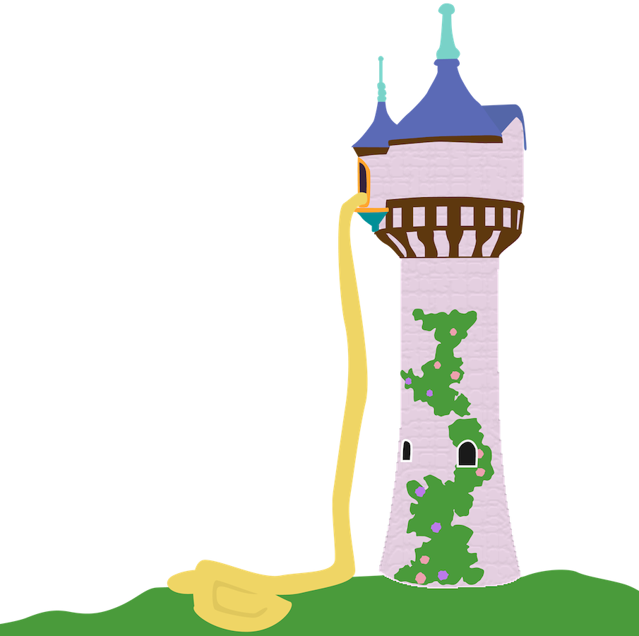 Disney undone movies with. Rapunzel clipart rapunzel tower
