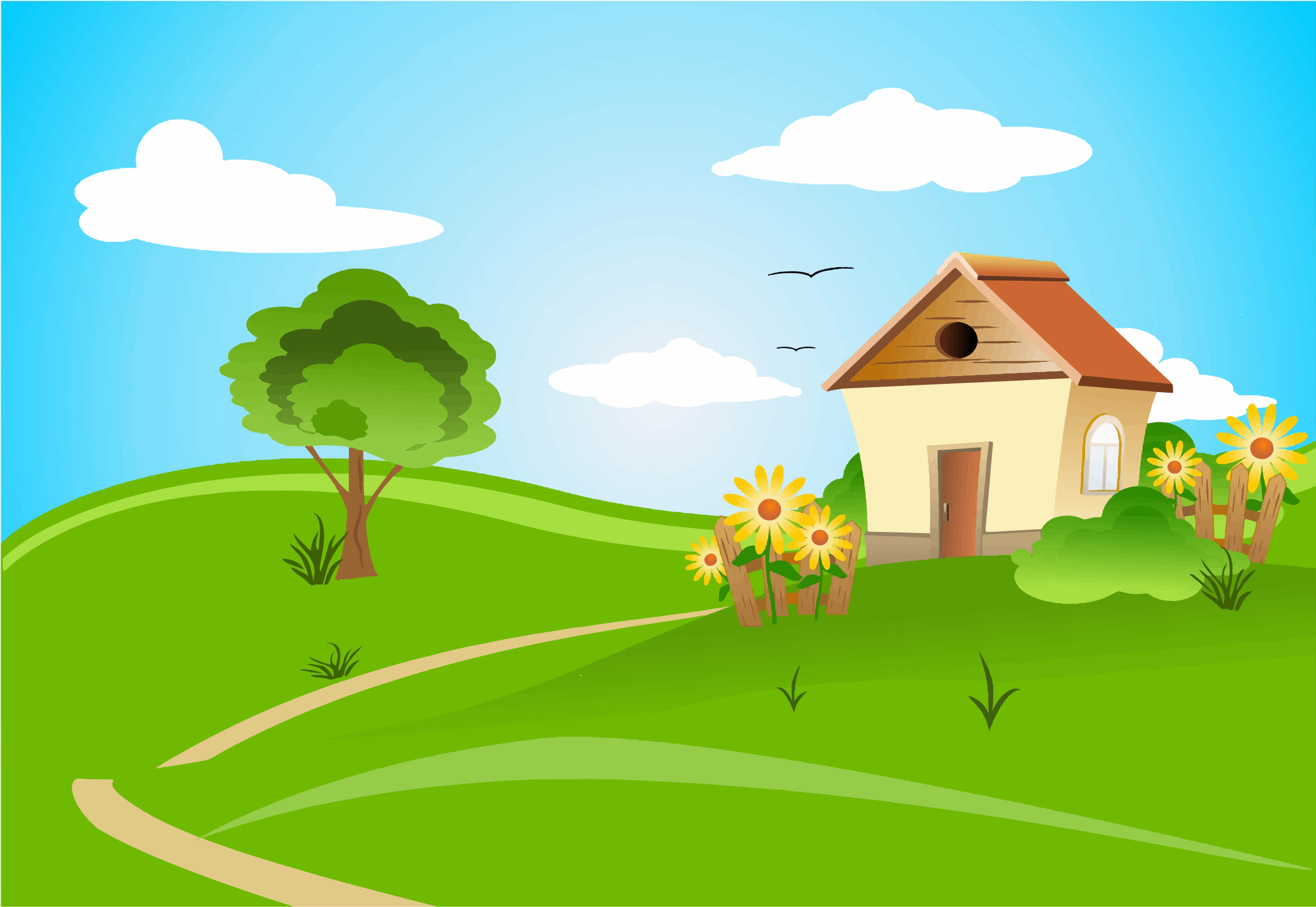 Free rolling cliparts download. Hills clipart landscape