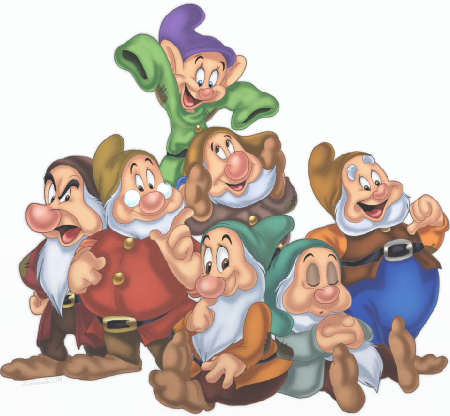 Houses clipart seven dwarfs. Snow white and the