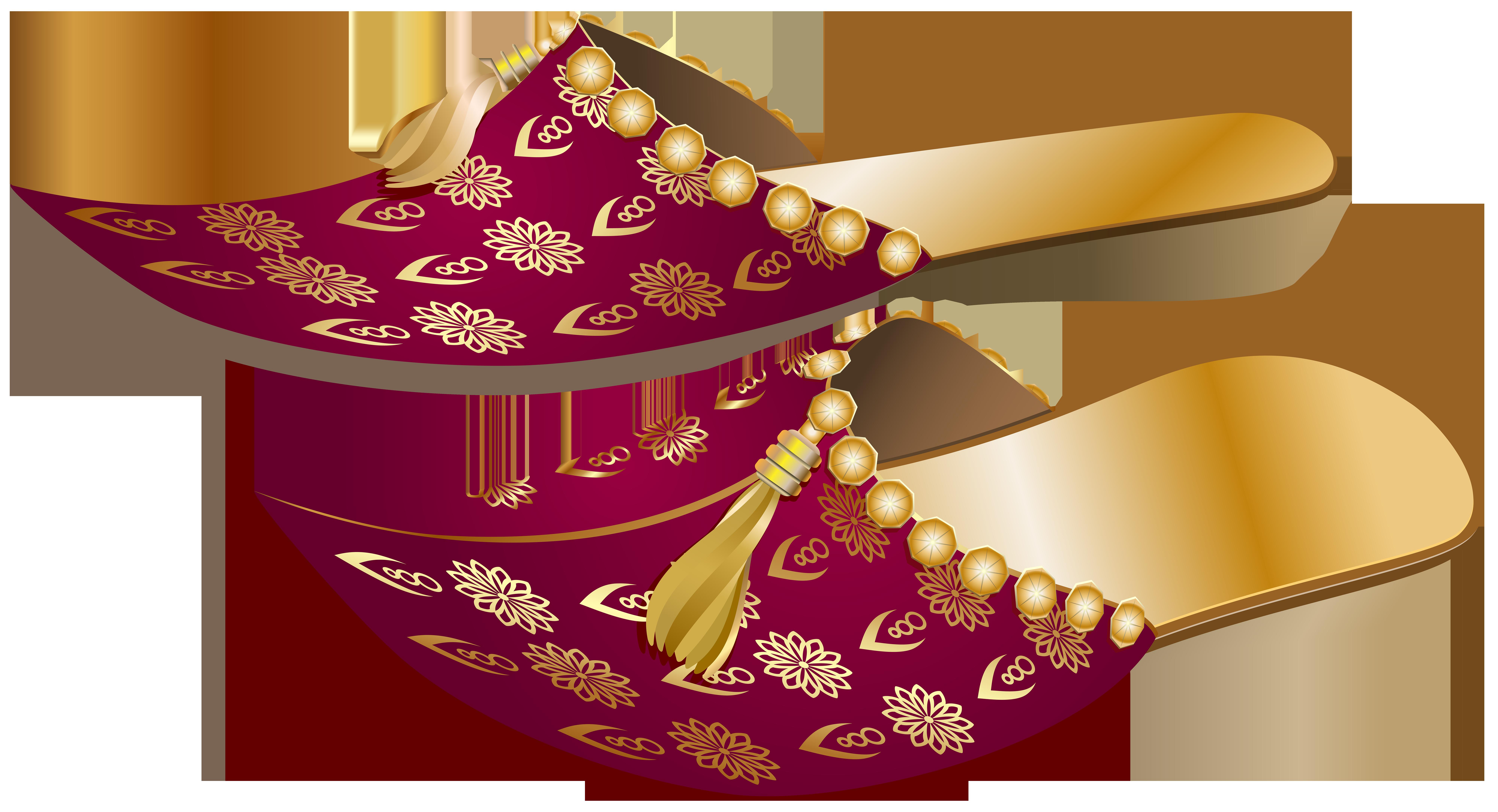 Arabian Slippers PNG Clip Art