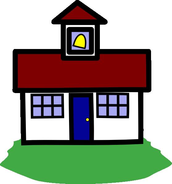 Schoolhouse clipart schhol. School house clip art